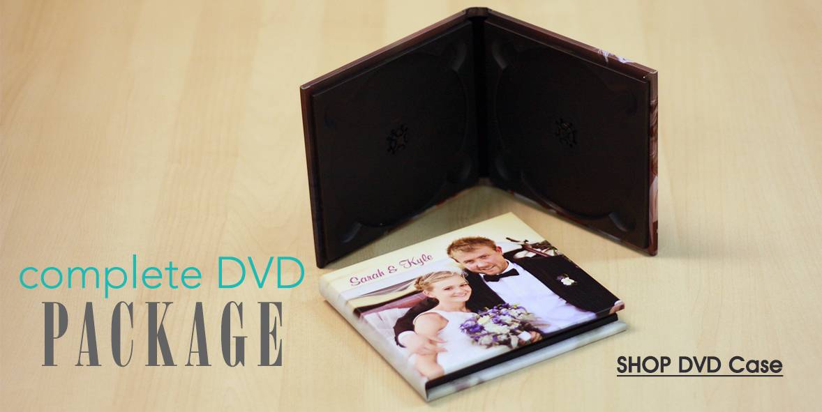 for 1 or 2 DVDs - Click to Shop DVD Cases